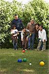Family Lawn Bowling
