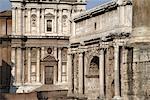 Arc de Septime Sévère et de la Curie Julia, Rome, Italie