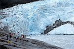 Tourisme à Glacier, Glacier Pia, Chili, Patagonie
