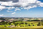 Farmland Near Hadrian's Wall, Northumberland, England