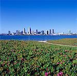 Paysage urbain de San Diego, Californie, Etats-Unis