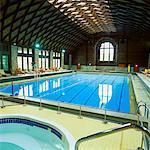 Swimming Pool, Chateau Montebello, Montebello, Quebec, Canada