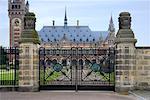 International Cour de Justice, la Haye, Pays-Bas