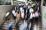 People Commuting at Tokyo Station Tokyo, Japan