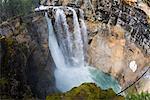 Waterfall, Johnston Canyon, Banff National Park, Alberta, Canada
