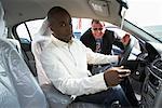 Car Salesman and Client