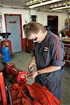 Mechanic Sharpening Tools