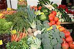 Verschiedene Gemüse zum Markt