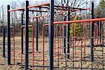 A climbing frame