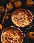 Normandy apple pie