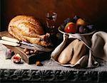 Turquie et cru, foie gras