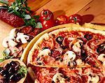 Pizza Regina avec chorizo