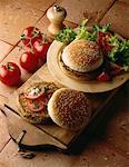 Hamburger à la tomate