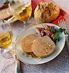tranches de foie gras de canard