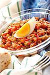 tunisian grilled vegetable salad