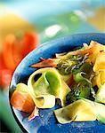 pasta and Parma ham salad