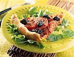 tomato and black olive tart