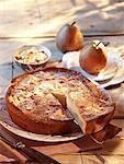 Gâteau aux poires amendine