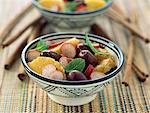 Moroccan salad with radishes