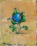 Terre comme une fleur