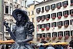 Street Entertainer, Innsbruck, Austria