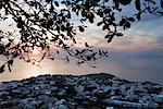 Capri au crépuscule, Italie
