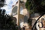 Extérieur du bâtiment, Capri, Italie