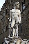 Statue de Neptune, Piazza della Signoria, Florence, Italie