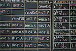 Class Schedule on Blackboard