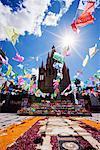 La Parroquia During Day of the Dead, San Miguel de Allende, Mexico