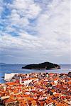 Vieille ville de Dubrovnik et l'île de Lokrum, Croatie