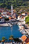 Jelsa, île de Hvar, Croatie