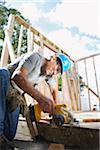 Construction Worker Working