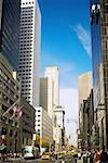 Gratte-ciel dans une ville, Fifth Avenue, Manhattan, New York City, New York État, USA