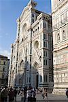 Facade of a church, Duomo Santa Maria del Fiore, Florence, Italy