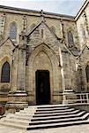 Entrance of a church, Church of Our Lady Nahuel Huapi, San Carlos De Bariloche, Argentina