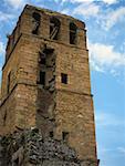 Low angle view of the old ruins of a church, La Merced Church, Old Panama, Panama City, Panama