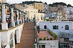Buildings in a town, Capri, Campania, Italy