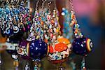 Close-up of decorative urns, Istanbul, Turkey