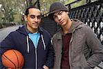 Portrait of Teenaged Boys