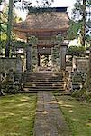 Temple Teischou-ji, près de Saku, Japon