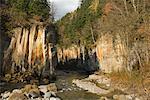 Sounkyo Schlucht, Daisetsuzan-Nationalpark, Hokkaido, Japan
