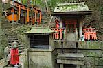 Fushimi Inari Taisha Temple, Kyoto, Kansai, Honshu, Japon