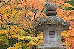 Stone Laterne, Kansai, Honshu, Japan