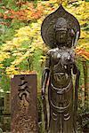 Statue d'arbres, Kansai, Honshu, Japon