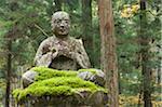 Statue von Wald, Kansai, Honsu, Japan