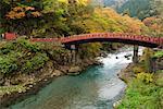Shinkyo sacré pont, Nikko, Honshu, Japon