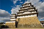 Himeiji Castle, Himeiji, Kansai, Honshu, Japan