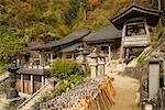 Risshaku-ji on Mount Hoju, Japan