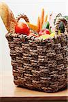 Basket of Fresh Food